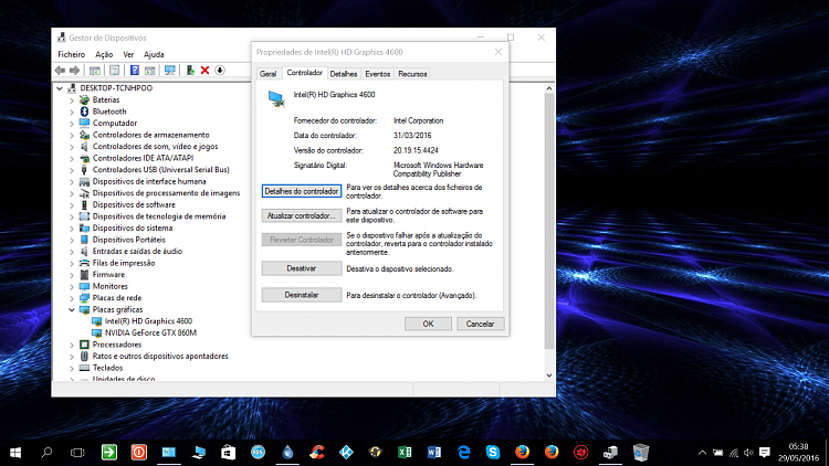 New Intel HD Graphics 4600 Driver Update in WU - Windows 10