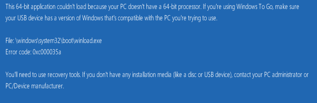 upgrade to windows 10 64 bit