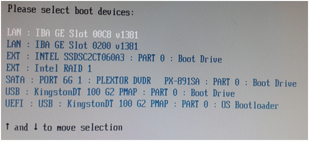 Click image for larger version.  Name:Intel NUC6i3SYK boot menu.png Views:35 Size:333.3 KB ID:114196
