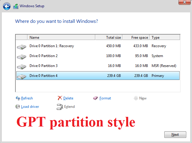 Click image for larger version.  Name:GPT partition style.png Views:11 Size:34.9 KB ID:114603