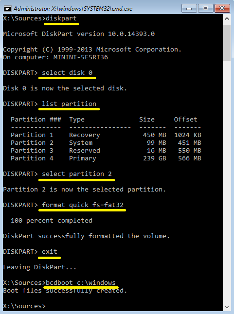 Click image for larger version.  Name:Format the EFI System partition.png Views:183 Size:34.7 KB ID:115292