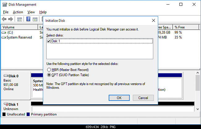 Click image for larger version.  Name:Initialize Disk.png Views:36 Size:142.6 KB ID:115528
