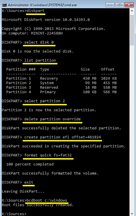 Click image for larger version.  Name:How to delete and recreate the EFI system partition, if you have unallocated space.png Views:31 Size:41.7 KB ID:116318