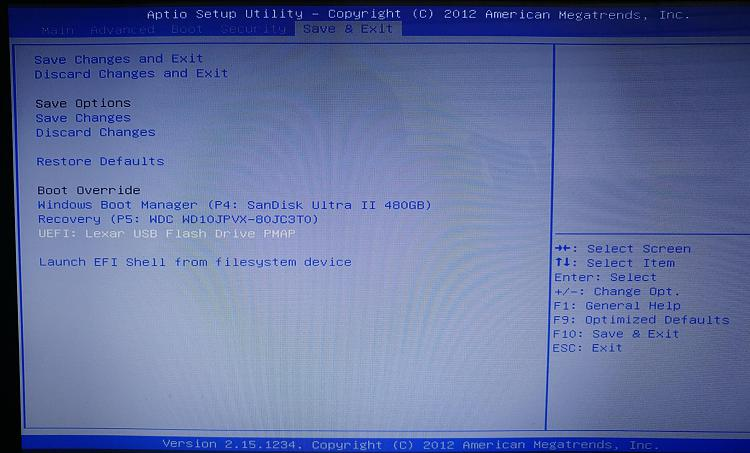 how to boot from usb flash drive on asus laptop
