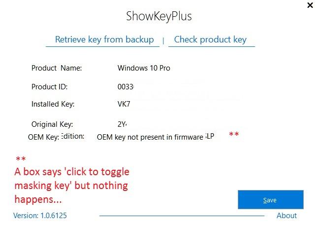 Clean install ShowKey.jpg