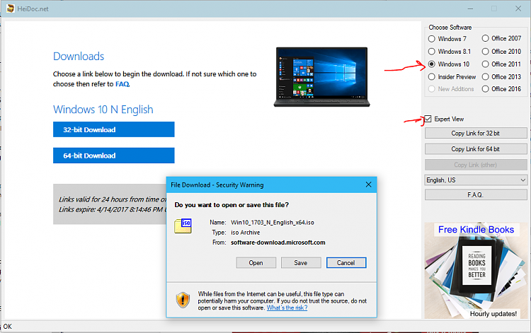 How to Download Creators Update ISO via MS w/o Media Creation Tool-tool.png