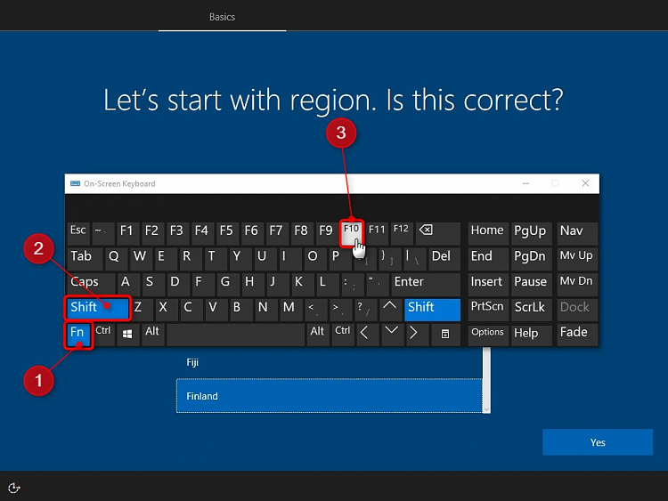 Keyboard and Touchpad Inop during Windows 10 install