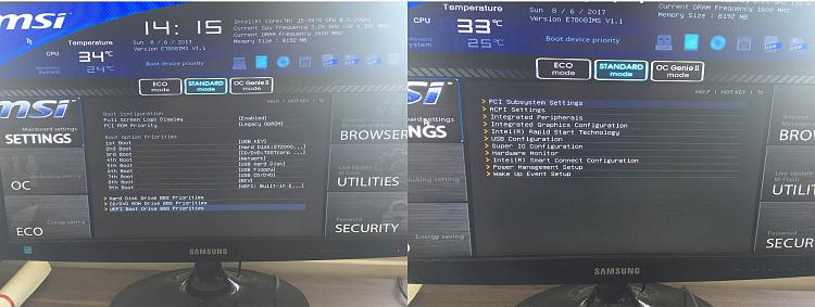 updating my BIOS to support UEFI , I need to clean install W/10