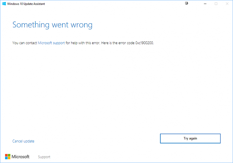 Can't upgrade my W10 Solved - Windows 10 Forums