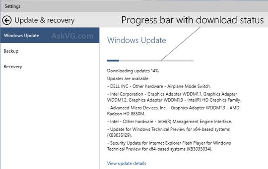 Click image for larger version.  Name:Windows_10_Update_Progressbar_Status.png Views:406 Size:22.1 KB ID:16111