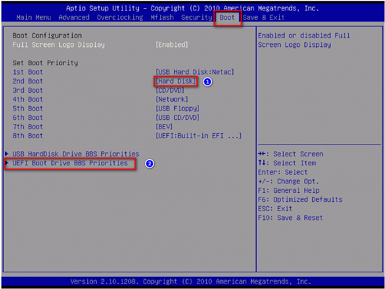 Need help in changing BIOS settings from legacy boot to UEFI boot.-boot.png