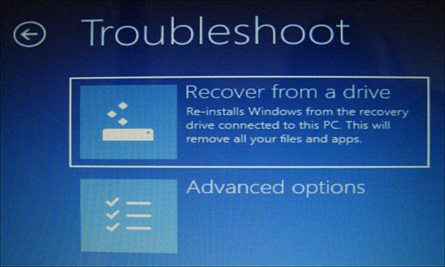 Click image for larger version.  Name:Recovery drive boot.JPG Views:95 Size:38.7 KB ID:168911