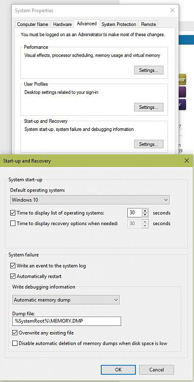 Click image for larger version.  Name:Advanced System Settings.JPG Views:0 Size:72.1 KB ID:173778