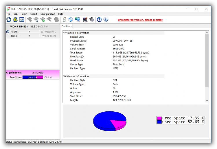 Click image for larger version.  Name:HarDiskSentinelScreenShot.png Views:6 Size:117.0 KB ID:178665