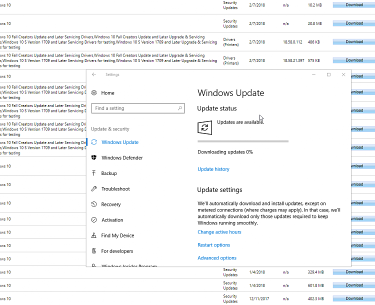 windows 10 update getting stuck