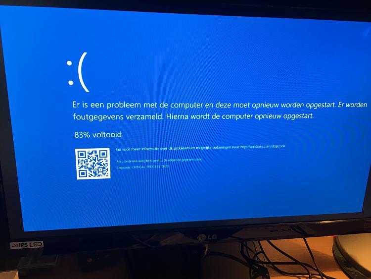 Computer stuck in repair loop after update failure - Windows