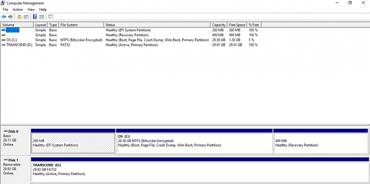 Click image for larger version.  Name:Disk Management screen grab.PNG Views:3 Size:34.4 KB ID:198139