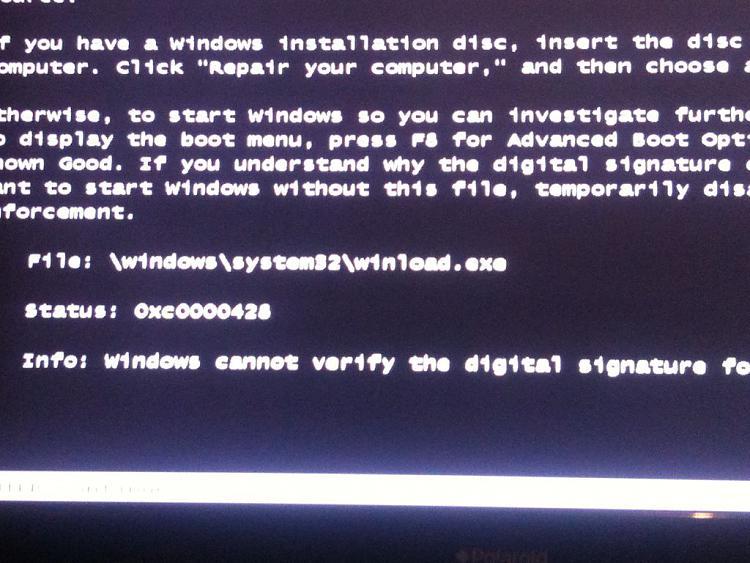 error 0xc0000428 winload.exe cannot be verified-error.jpg