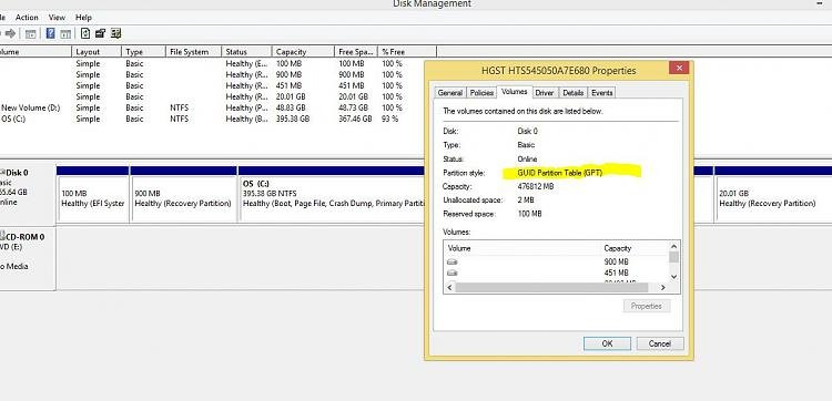 W-10 dual boot attempt fails. Selected disk of GPT type-volumes.jpg