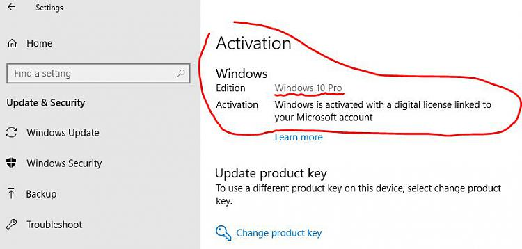 win10 home to pro upgrade key
