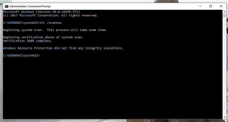 Can't Upgrade, Error 0x8007001F - 0x2006 and more, Stuck on 1709-sfc-scannow-no-issues.png