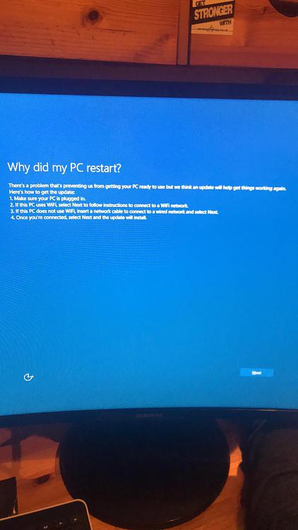 Stuck In Set Up Loop After Factory Reset Solved - Windows 10