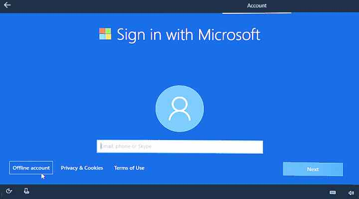 Clean Install Without Using Either A Ms Account Or A Phone Number Windows 10 Forums