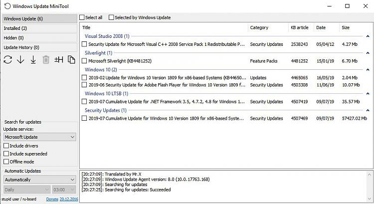 Click image for larger version.  Name:Windows Update MiniTool.jpg Views:2 Size:84.7 KB ID:241093