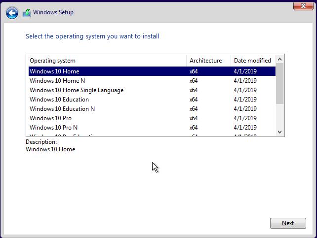 Custom install wim for UEFI and BIOS on same USB flash drive