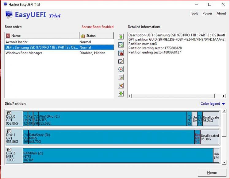 bcdedit and BIOS disk order, how do I setup multibooting