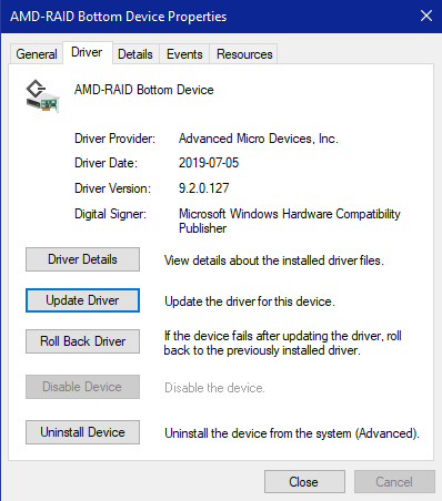 Unable to upgrade to windows 10 build 1903, AMD RAID Driver Error-amd-raid-driver.png