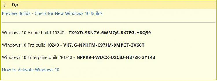 How to activate win10 build 10240 clean install solved windows 10 click image for larger version name w10keysg views 3520 size ccuart Choice Image