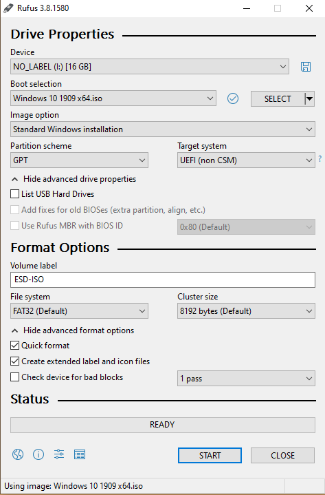 Dell Inspiron 1567 Laptop Wont Install Windows-rufus.png