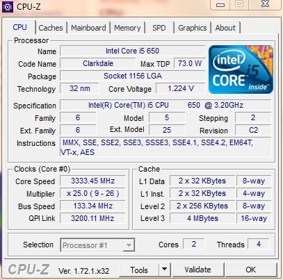 Click image for larger version.  Name:CPU info.JPG Views:4145 Size:57.3 KB ID:26473