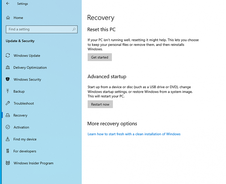 Upgraded from Win 7 but want to uninstall-recovery.png