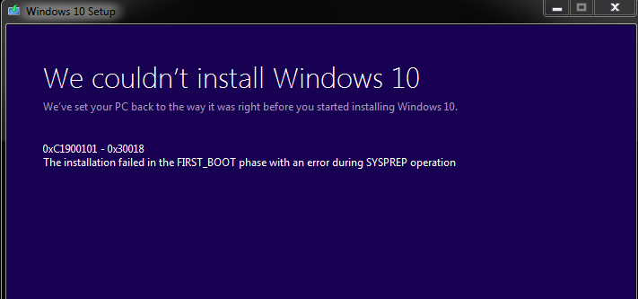 Windows 10 Error code 0xc1900101-0x30018-0xc1900101-0x30018.png