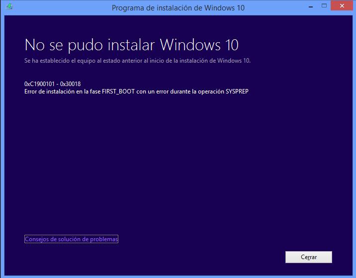 Windows 10 Error code 0xc1900101-0x30018-errorw10.png