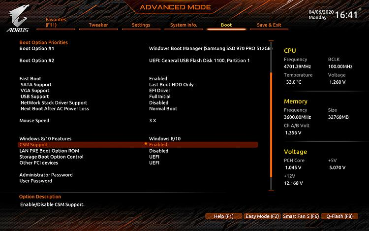 Uefi Vs Legacy Difference In Performance