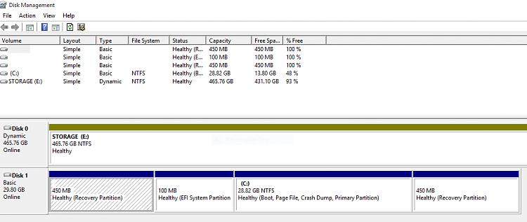windows 10 uefi install partition