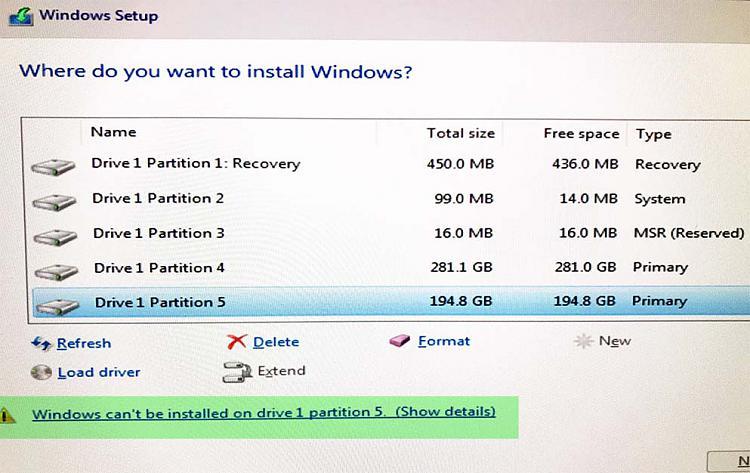 Windows 10 install on dual boot 2 drive Windows-Ubuntu setup-windows_partition.jpg