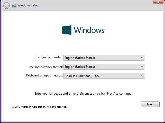 Before installing Windows 10, please read this special post of mine.-windows-setup-keyboard-inpurt-method-.jpg