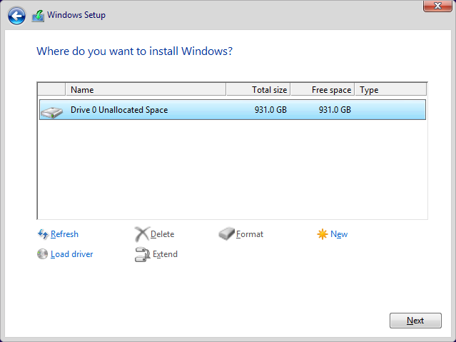Click image for larger version.  Name:Drive 0 Unallocated Space.png Views:495 Size:19.1 KB ID:32008