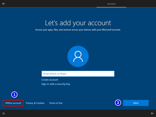 Do we need a Microsoft account after clean install-screenshot.jpg