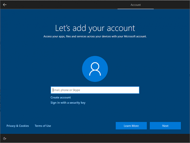 Do we need a Microsoft account after clean install-oobe-20h2-home-connected.png