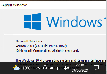 Windows 10 21H1 upgrade invitation has disappeared-image.png