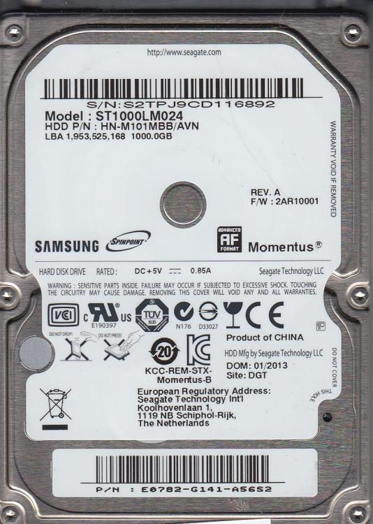 Click image for larger version.  Name:Cliffs 1TB Samsung HDD.jpg Views:1 Size:157.5 KB ID:37807