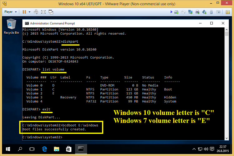 Windows 10 Bootmanager Entfernen
