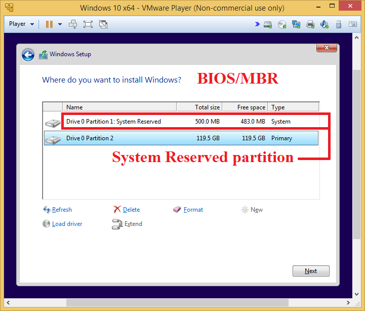 Click image for larger version.  Name:System Reserved partition - Legacy BIOS Boot Mode.png Views:5 Size:42.9 KB ID:44553
