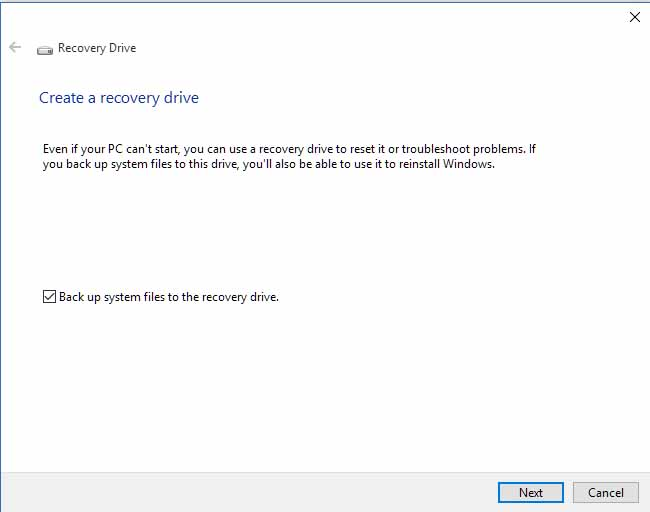 "Unable to create ""RecoveryDrive"" in Windows 10-create4.jpg"