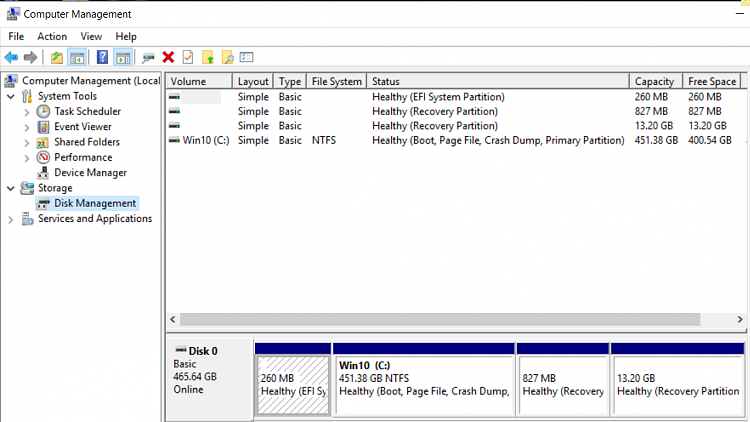hp windows 10 recovery disk